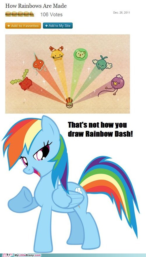 Some people just can't draw ponies