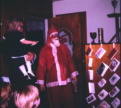 creepy,mask,oh god why,retro,santa