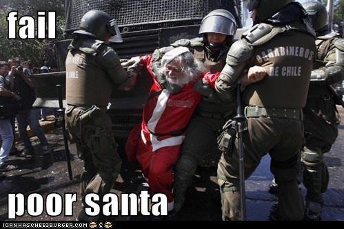fail  poor santa