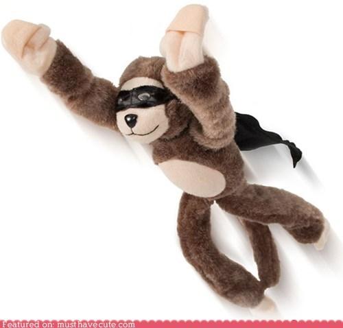 cape,fly,monkey,scream,slingshot,toy