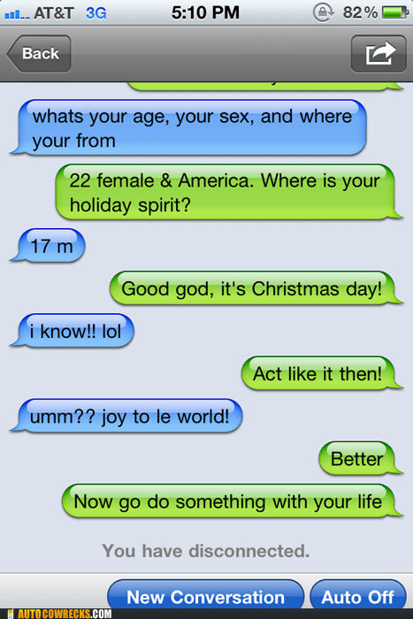 christmas,inappropriate,joy to the world,rejected,rejection,sexting
