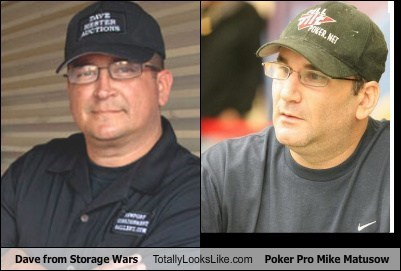 Dave from Storage Wars Totally Looks Like Poker Pro Mike Matusow