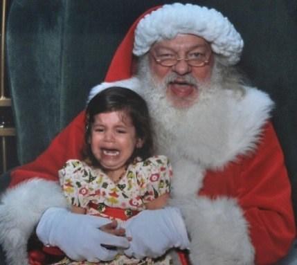 Santa's death grip