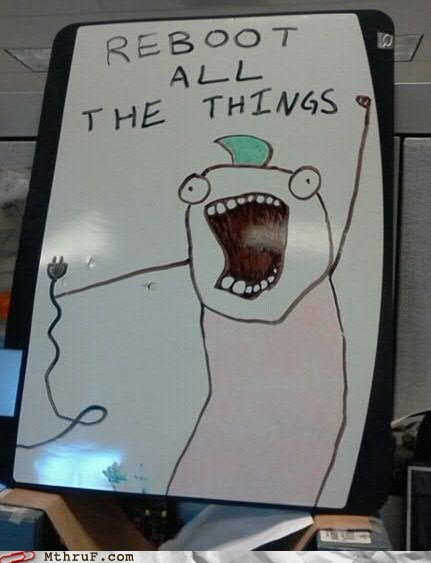 all the things,Hall of Fame,it,reboot,whiteboard art