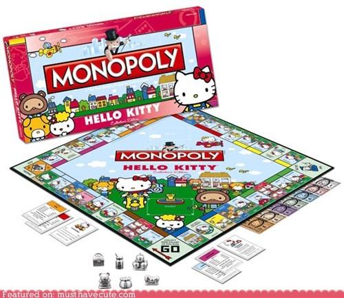 board game,game,hello kitty,monopoly,Sanrio