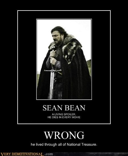 died,hilarious,national treasure,sean bean