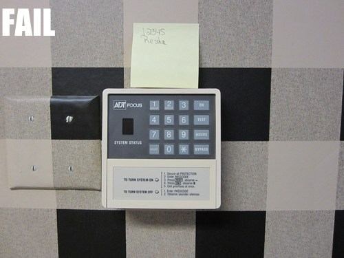 Building Security FAIL
