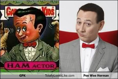 GPK Totally Looks Like Pee Wee Herman