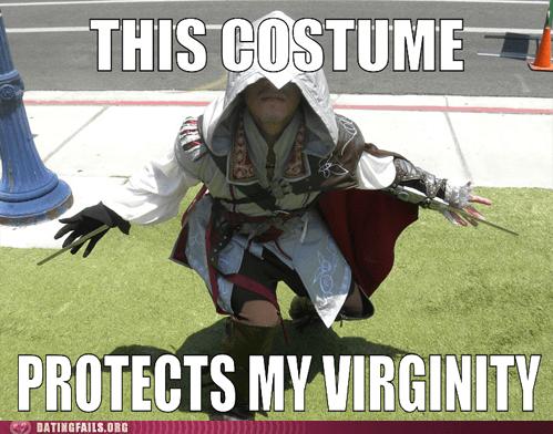assassins creed,costume,fanboy,virgin