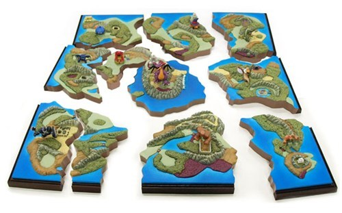 Dragon Quest Map Diorama of the Day