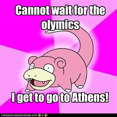 Cannot wait for the olymics