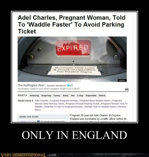 ONLY IN ENGLAND