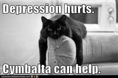 Depression hurts.  Cymbalta can help.