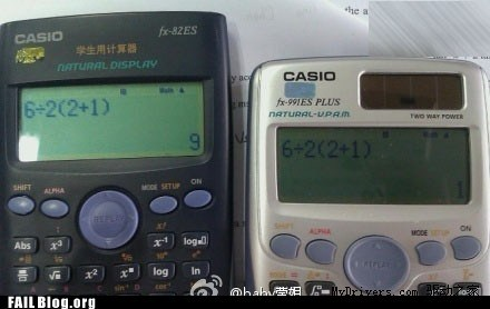 Calculator FAIL