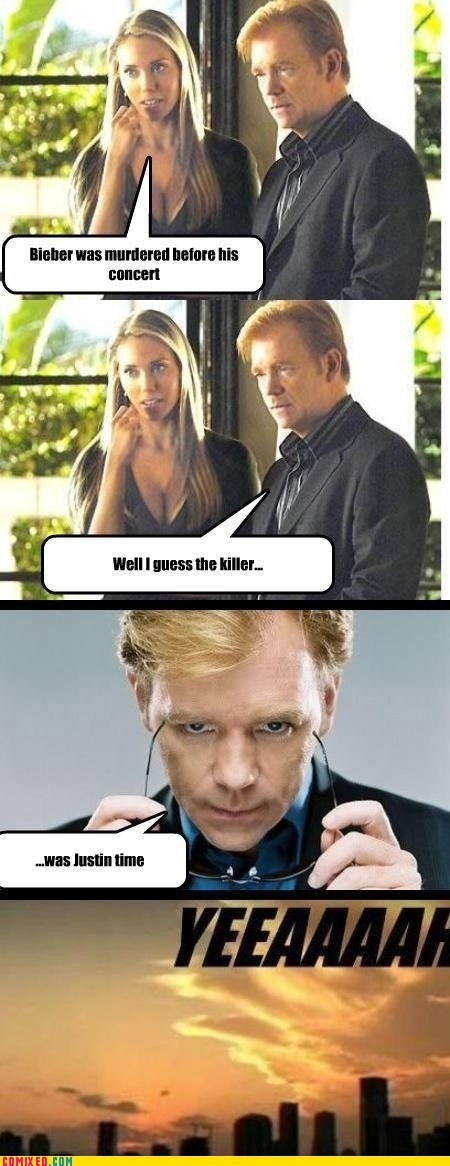 awww,csi,justin bieber,meme,the internets