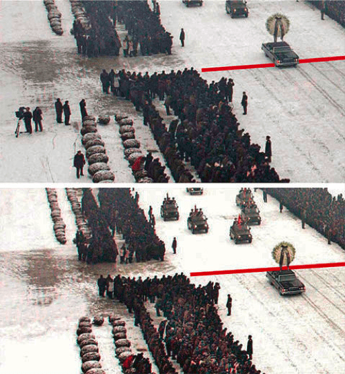 Photoshopped Funeral Procession of the Day