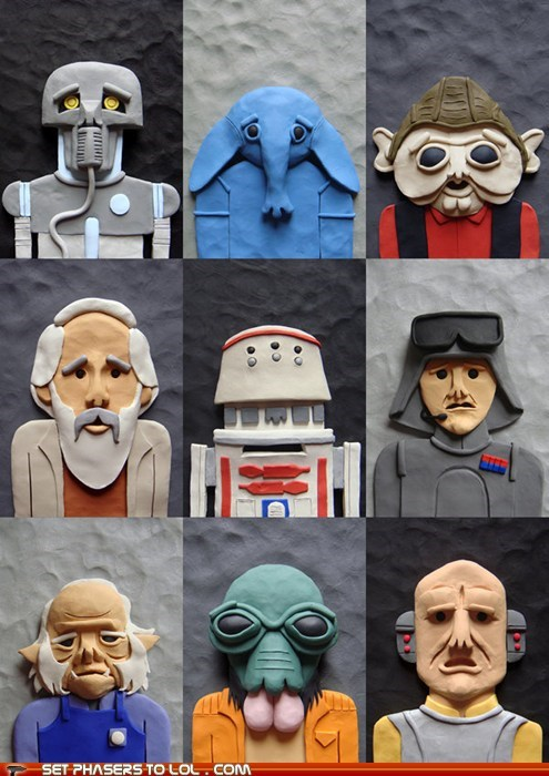 art,characters,clay,lesser,minor,mos eisley,star wars