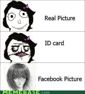 You Have Someone Draw Your Facebook Picture?