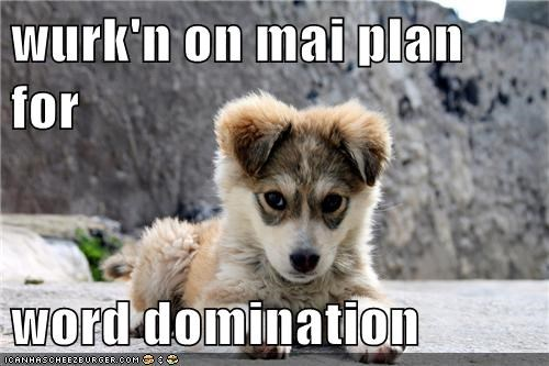 wurk'n on mai plan