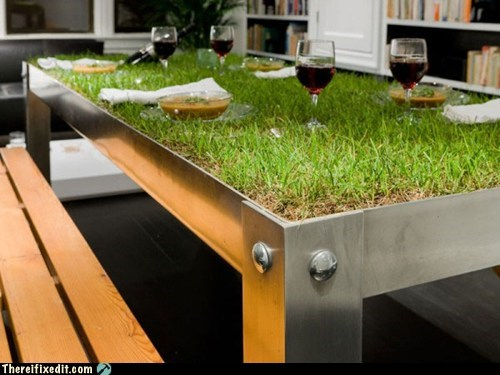 Real Sustainable Eaters Grow Their Own Tables
