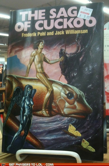 book covers,books,cover art,fish,sag,science fiction,sticker placement,wtf