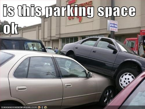 is this parking space ok