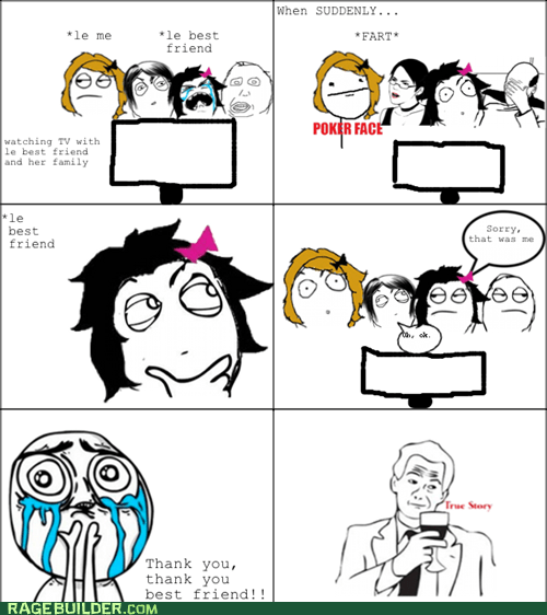 Rage Comics: Whoever Smelled It Dealt It