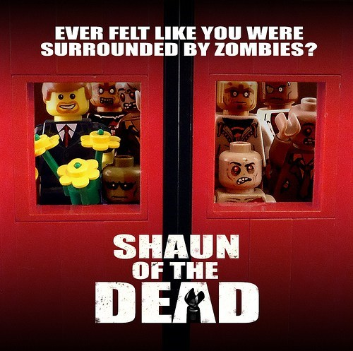 Lego Shaun of the Dead of the Day