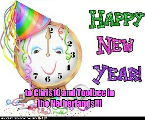 to Chris10 and Toolbee in the Netherlands!!!