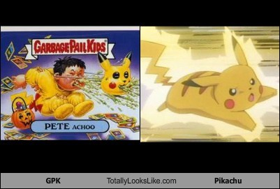 GPK Totally Looks Like Pikachu
