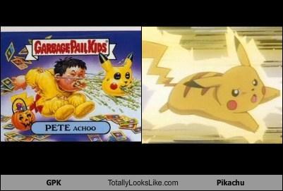 GPK Totally Looks Like Pikachu