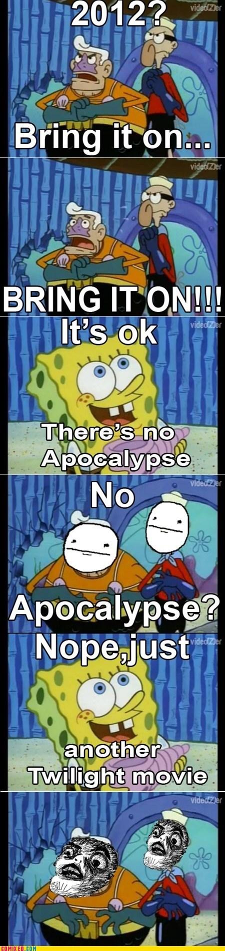 2012,new movies,SpongeBob SquarePants,the internets,twilight,world will end