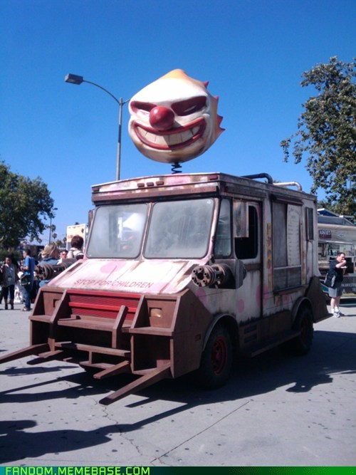FanArt,sweet tooth,twisted metal,video games