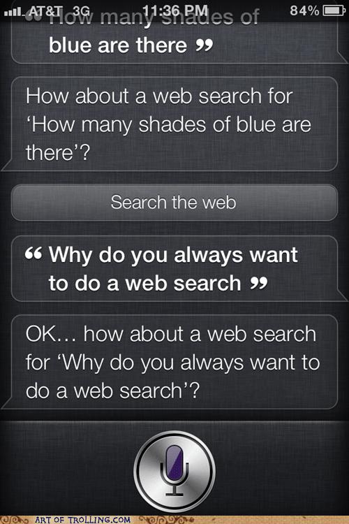 iphone,siri,web search