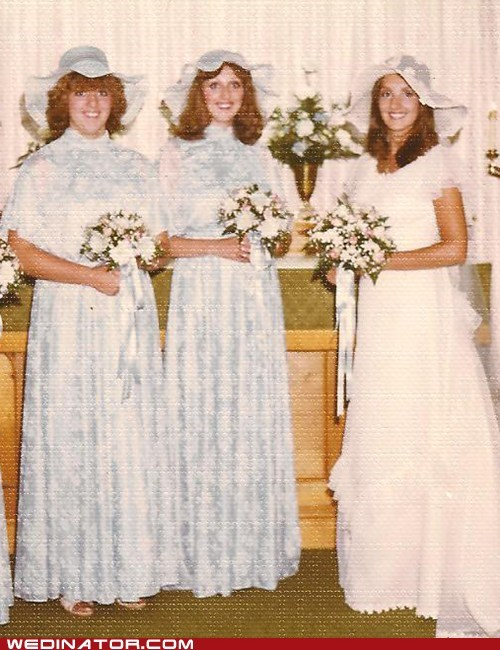 80s,funny wedding photos,hats,retro,vintage