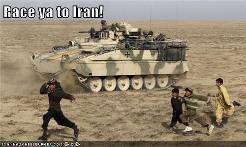 Race ya to Iran!