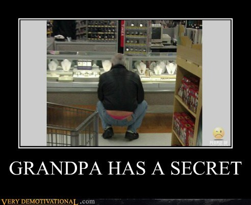 GRANDPA HAS A SECRET
