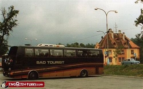 Worst tour bus ever.