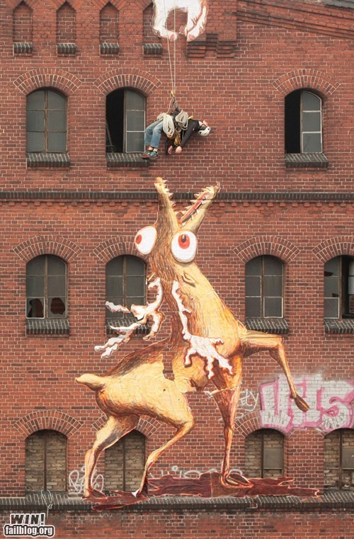 food,graffiti,hacked irl,rappel,snack,Street Art