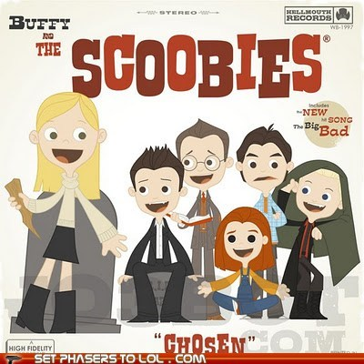 Buffy and the Scoobies