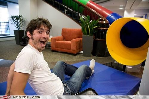 Epic Games,google,office slides,office swag,red bull,slides,youtube