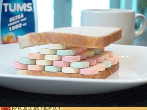 antacid,best of the week,bread,hangover,sandwich,tums