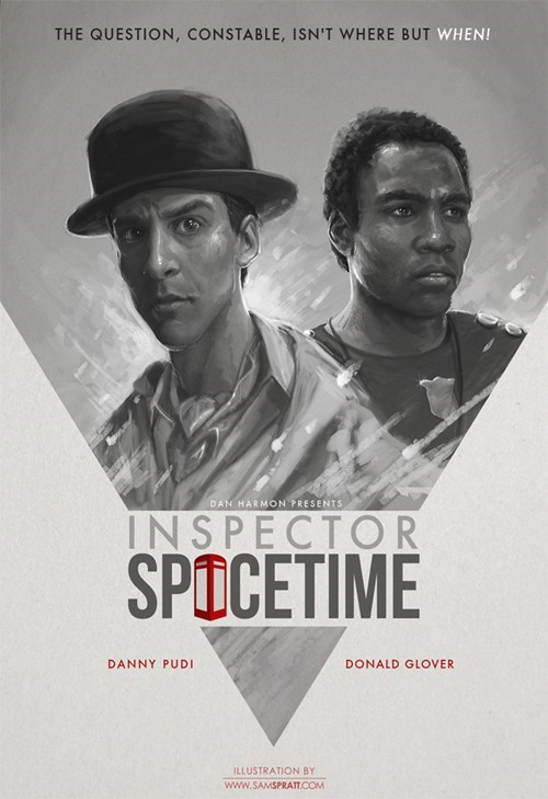 Inspector Spacetime Poster of the Day