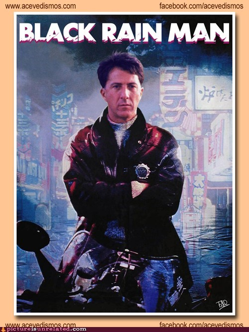 Movies Mashup: Black Rain Man
