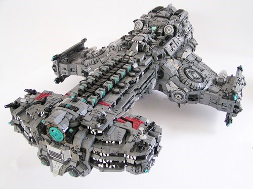 Lego StarCraft 2 Hyperion of the Day