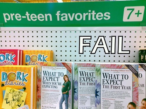 FAIL Nation: Pre-Teen Favorite FAIL