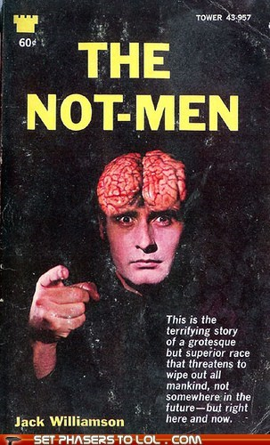 WTF Sci-Fi Book Covers: The Not-Men