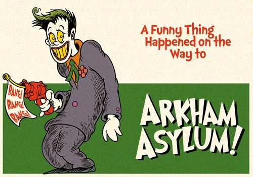 Dr. Seuss Meets the Joker of the Day