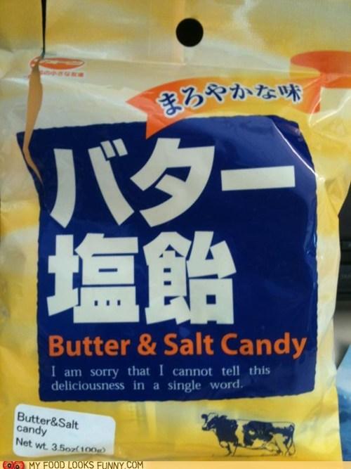 butter,candy,copy,salt,speechless,writer
