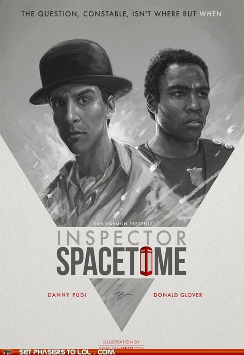 Inspector Spacetime Movie Poster